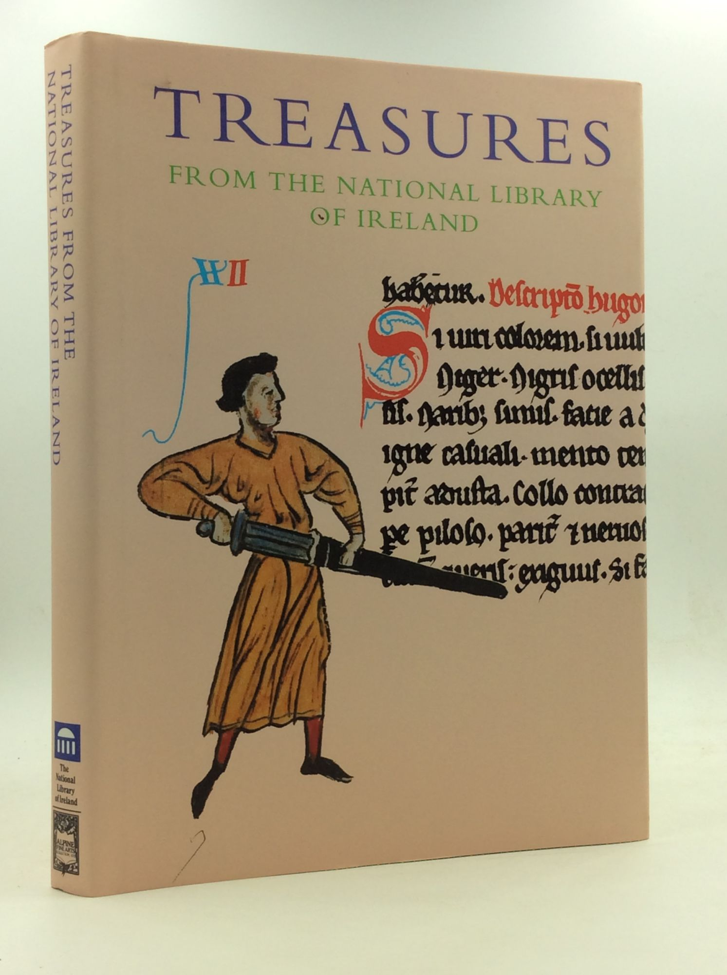 NOEL KISSANE, ED - Treasures from the National Library of Ireland