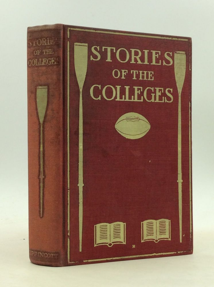 """A LIGHTNING CHANGE"" in STORIES OF THE COLLEGES. Albert Payson Terhune."
