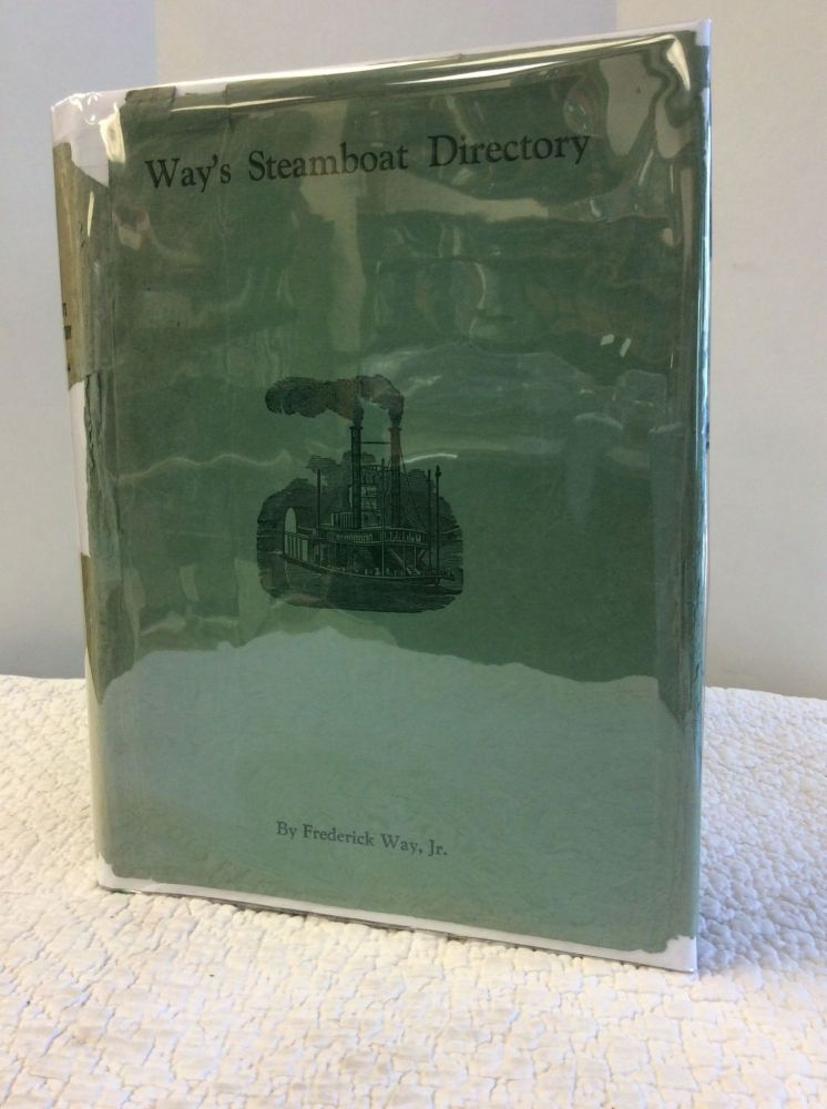 WAY'S STEAMBOAT DIRECTORY: Abridged Packet Edition 1944. Frederick Way Jr.