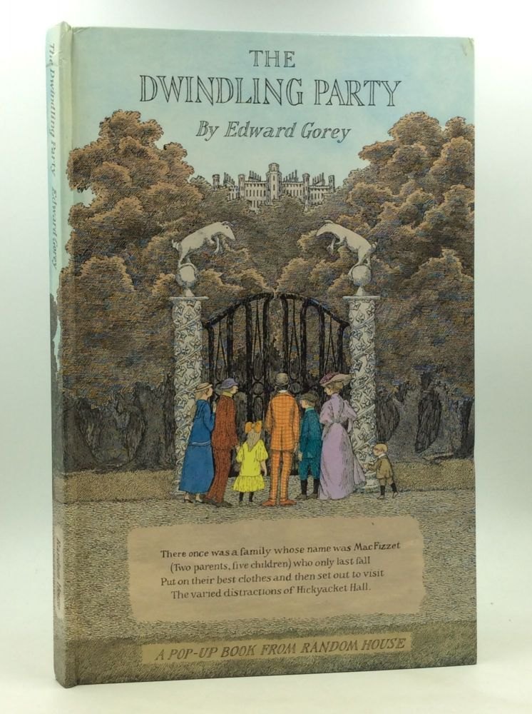 THE DWINDLING PARTY. Edward Gorey.