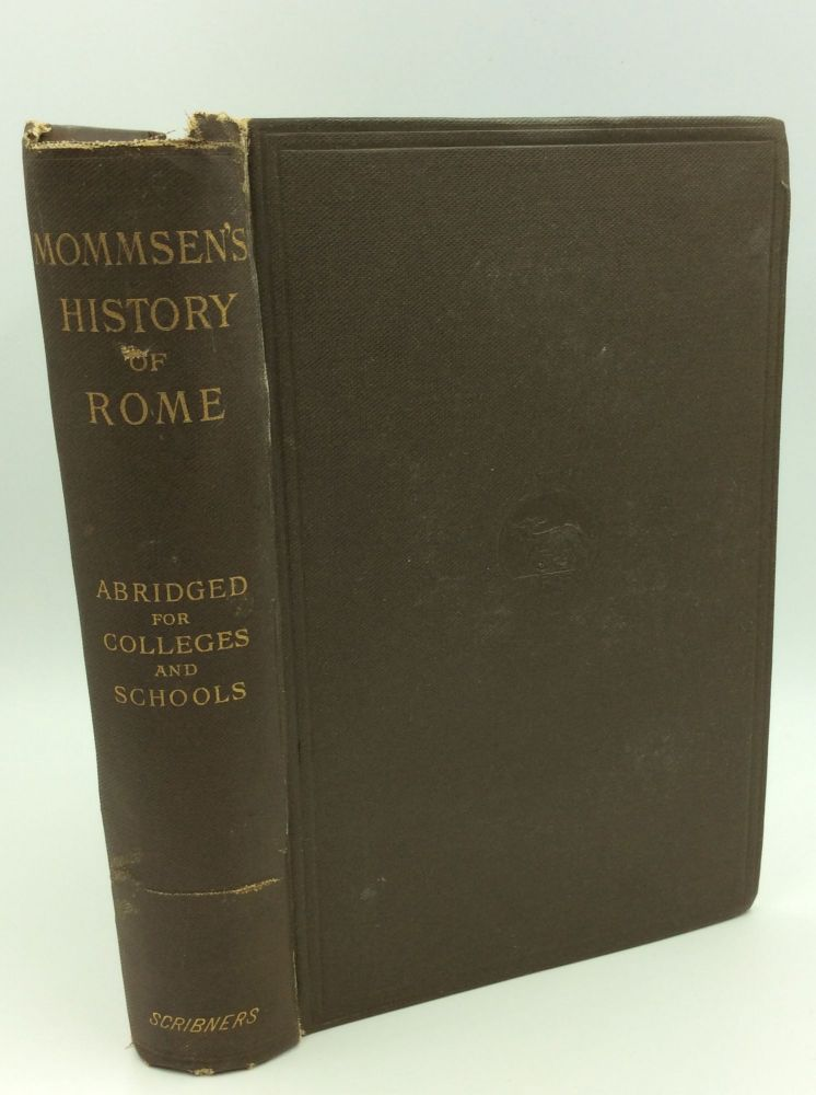 THE HISTORY OF THE ROMAN REPUBLIC. C. Bryans, F J. R. Hendy.