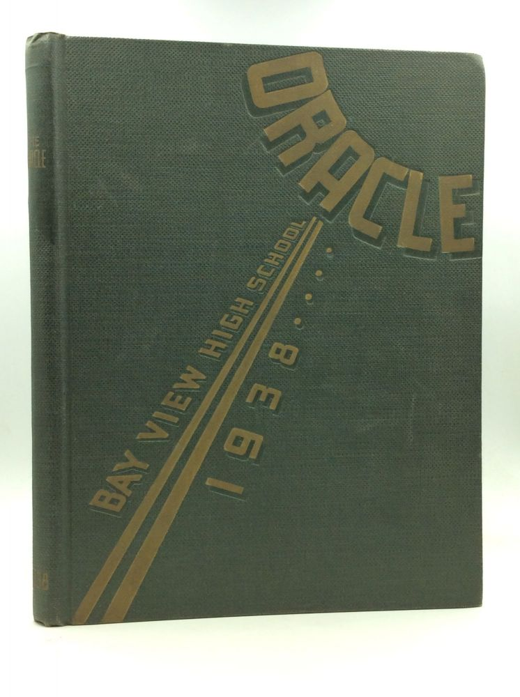 1938 BAY VIEW HIGH SCHOOL YEARBOOK. Bay View High School.