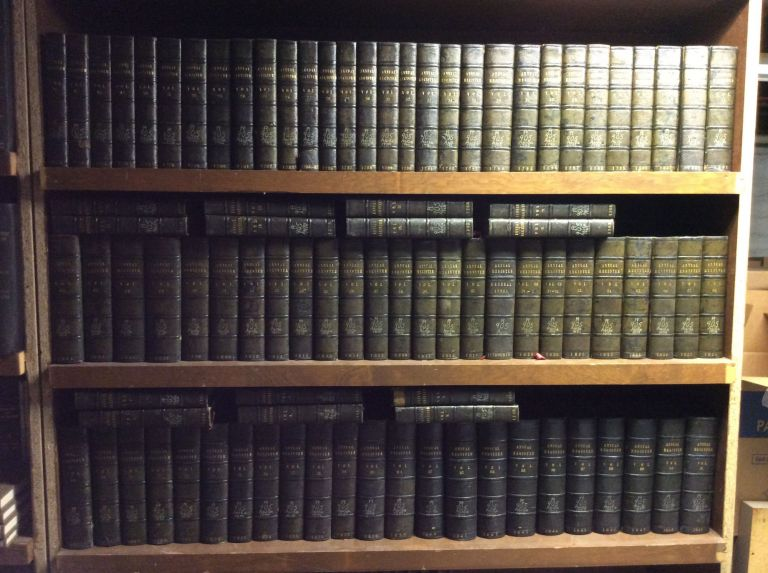 THE ANNUAL REGISTER: Complete Run From 1758-1849. Edmund Burke.