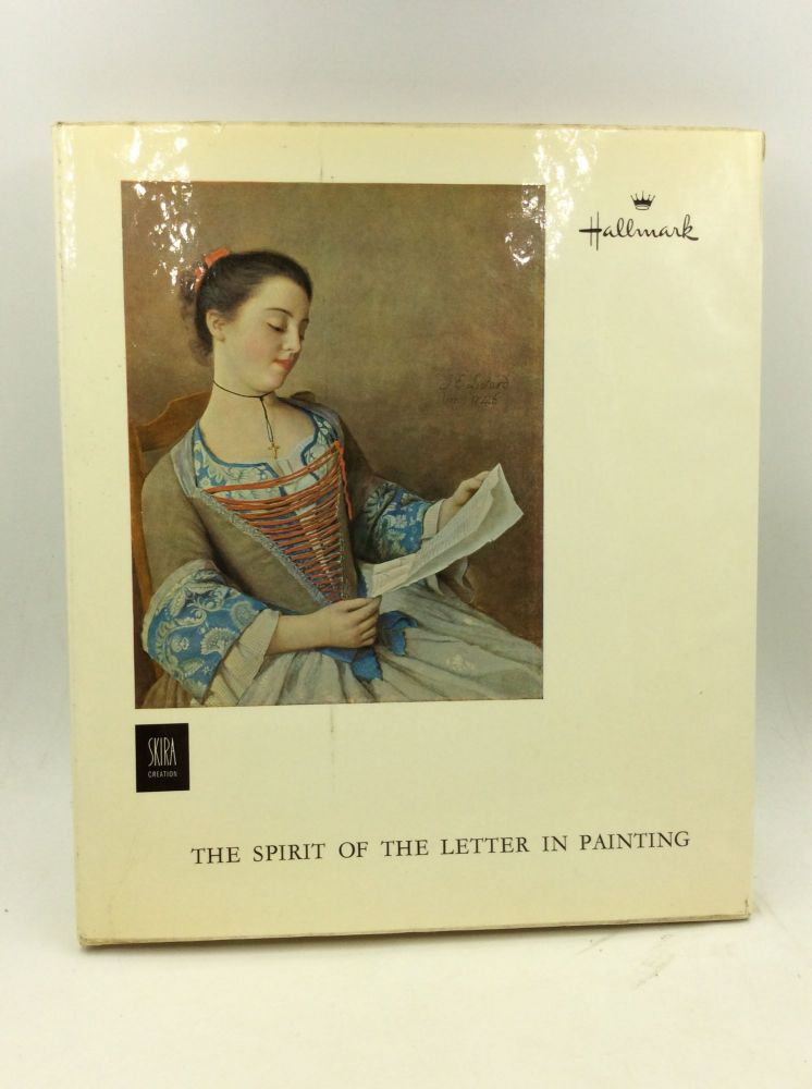 THE SPIRIT OF THE LETTER IN PAINTING. Jean Leymarie.