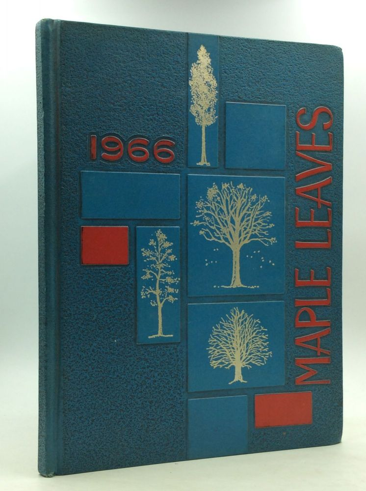 1966 BLESSED SACRAMENT HIGH SCHOOL YEARBOOK. Blessed Sacrament High School.