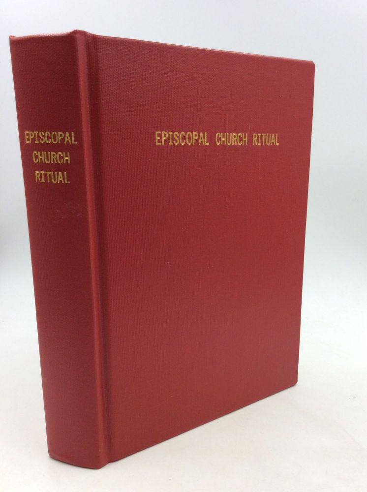THE BOOK OF OCCASIONAL SERVICES AND PASTORAL OFFICES. Episcopal Church.