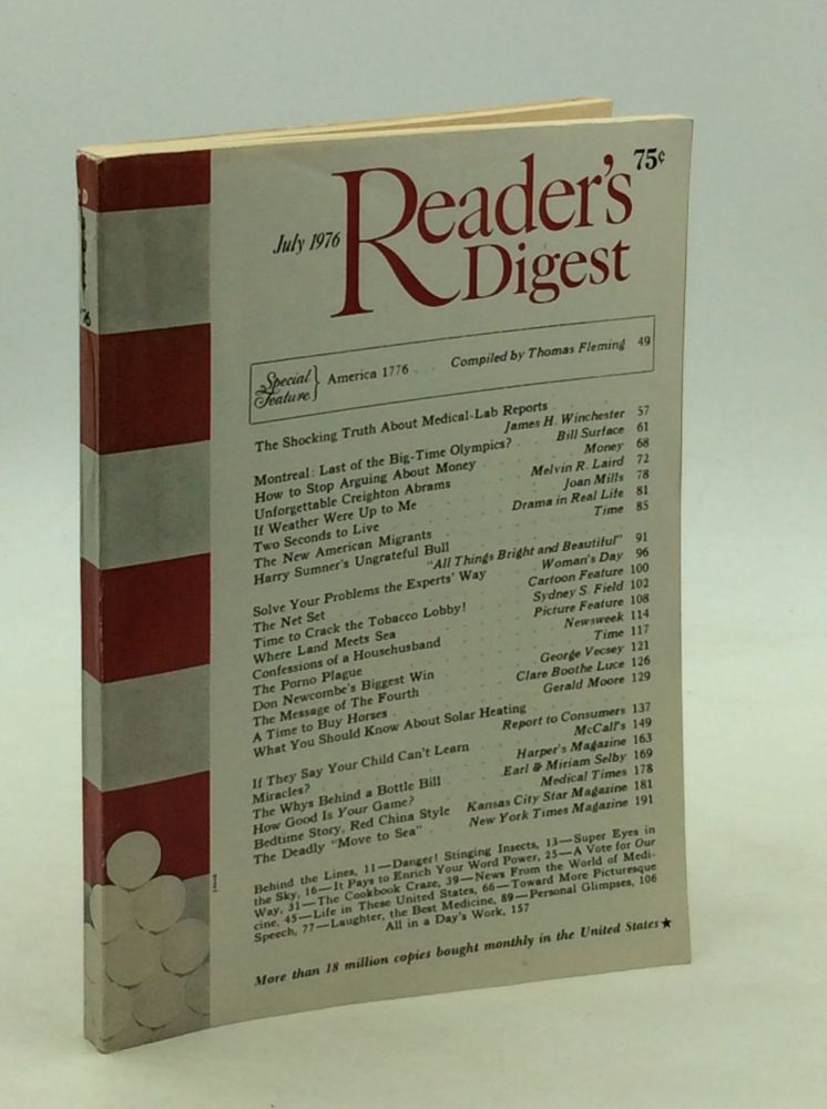 READER'S DIGEST: July 1976 (Bicentennial issue)