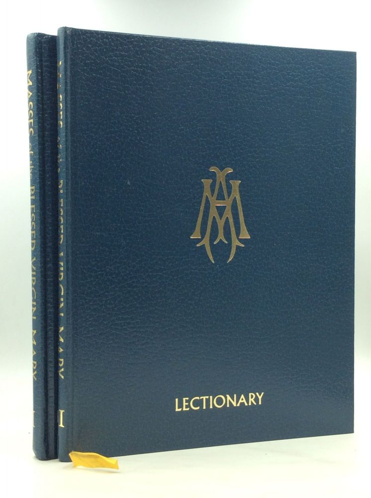 COLLECTION OF MASSES OF THE BLESSED VIRGIN MARY, Volumes I-II (Sacramentary and Lectionary). International Commission on English in the Liturgy.