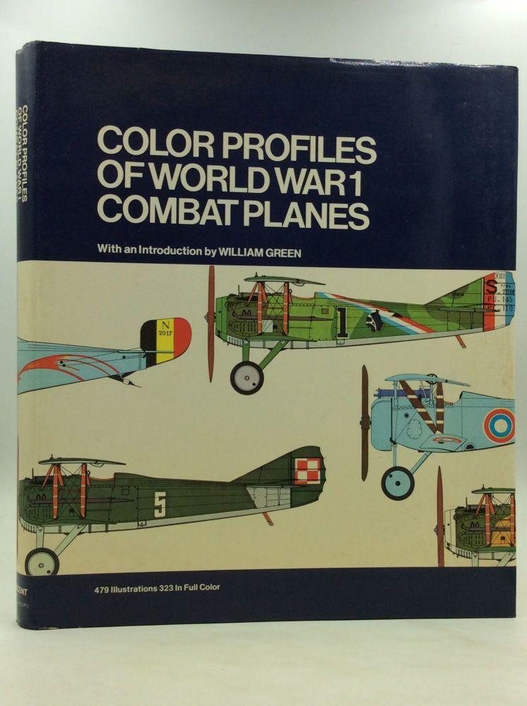 COLOR PROFILES OF WORLD WAR I COMBAT PLANES. trans Dale McAdoo.