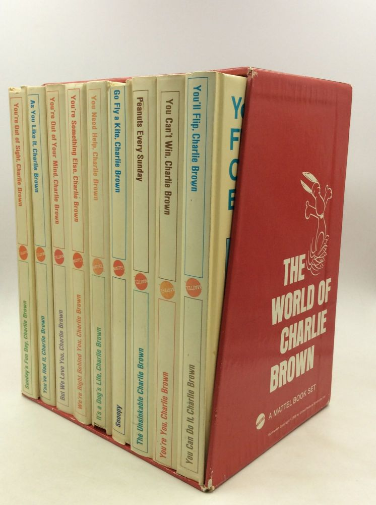 THE WORLD OF CHARLIE BROWN: A Mattel Book Set. Charles M. Schulz.