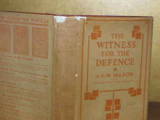 THE WITNESS FOR THE DEFENCE. A E. W. Mason