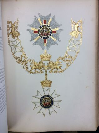 HISTORY OF THE ORDERS OF KNIGHTHOOD OF THE BRITISH EMPIRE. Sir Nicholas Harris Nicolas