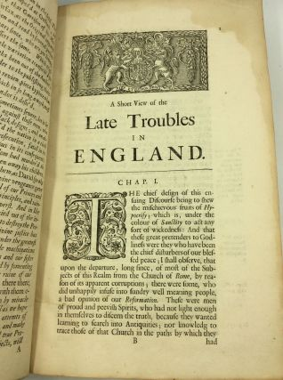 A SHORT VIEW OF THE LATE TROUBLES IN ENGLAND