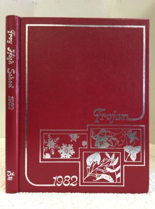 1982 TROY HIGH SCHOOL YEARBOOK: TROJAN. Troy High School