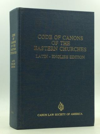 CODE OF CANONS FOR THE EASTERN CHURCHES [Latin-English edition]. Pope John Paul II