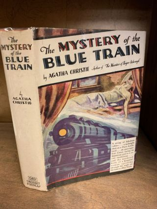 THE MYSTERY OF THE BLUE TRAIN. Agatha Christie