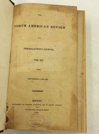 NORTH AMERICAN REVIEW (Volumes 12-247)
