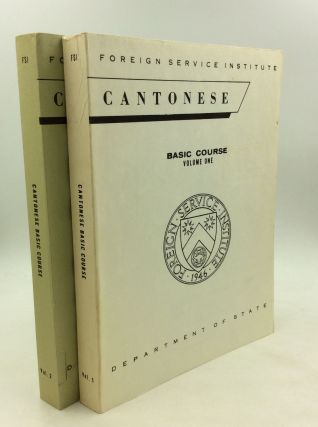 CANTONESE BASIC COURSE: Volumes One & Two. Elizabeth Latimore Boyle