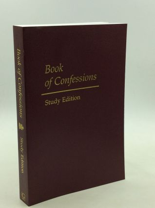 BOOK OF CONFESSIONS STUDY EDITION [Part I of the Constitution of the Presbyterian Church (U.S.A