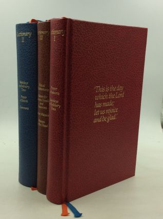 LECTIONARY I-III from the Roman Missal of Pope Paul VI (3 vol. set