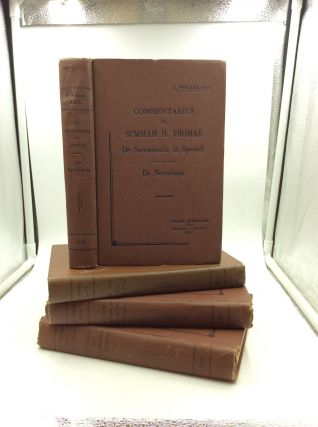 Commentarius in Summam D. Thomae: 4 vol. set. Augustus Ferland