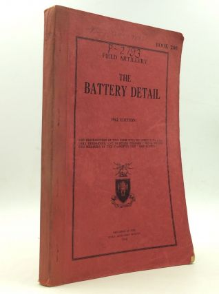 THE BATTERY DETAIL. Field Artillery School.