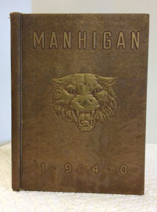 1940 MANSFIELD SENIOR HIGH SCHOOL YEARBOOK. Mansfield Senior High School