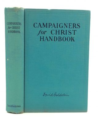 CAMPAIGNERS FOR CHRIST HANDBOOK. David Goldstein.
