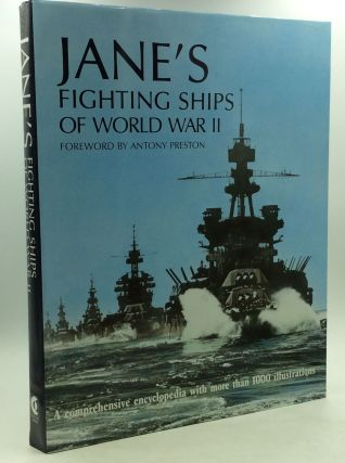 JANE'S FIGHTING SHIPS OF WORLD WAR II. fwd Antony Preston