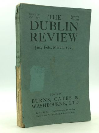 THE DUBLIN REVIEW: January, February, March 1923