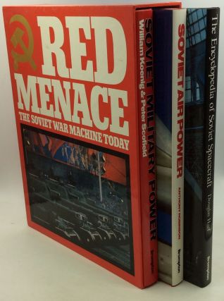 RED MENACE: Soviet Military Power; Soviet Air Power; The Encyclopedia of Military Spacecraft....