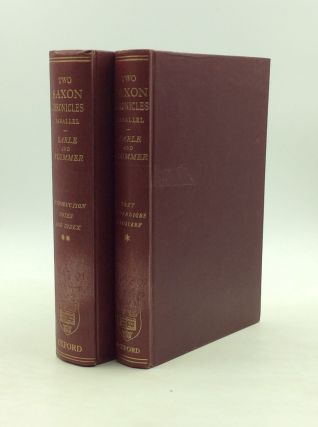 TWO OF THE SAXON CHRONICLES PARALLEL with Supplementary Extracts from the Others (2 volumes). ed...