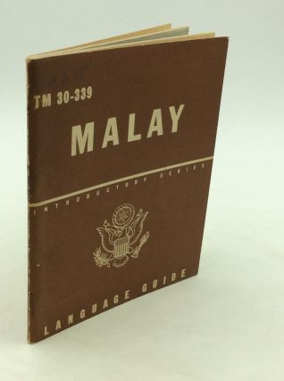 MALAY: A Guide to the Spoken Language