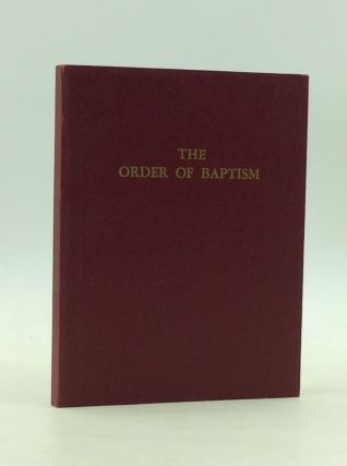 THE ORDER OF BAPTISM According to the Rite of the Armenian Apostolic Orthodox Church