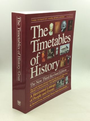 THE TIMETABLES OF HISTORY: A Horizontal Linkage of People and Events. Bernard Grun