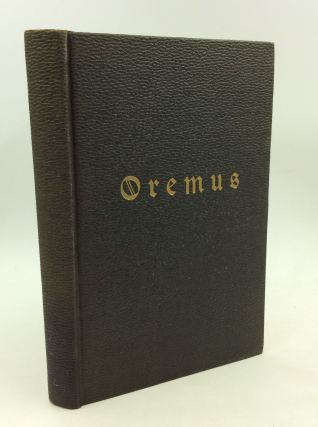 OREMUS: The Priest's Handbook of English Prayers for Church Services and Special Occasions. Andre...