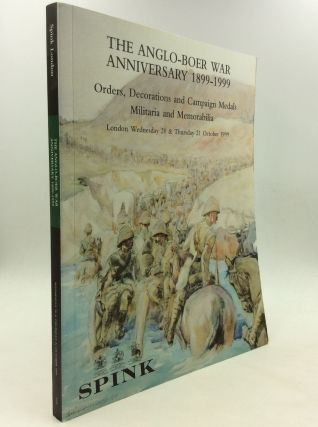THE ANGLO-BOER WAR ANNIVERSARY 1899-1999: Orders, Decorations and Campaign Medals, Militaria and...