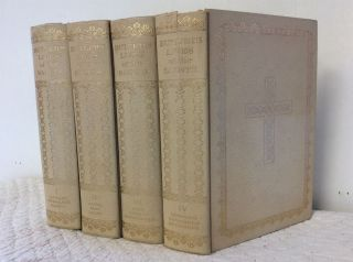 BUTLER'S LIVES OF THE SAINTS: Complete Edition (4 volumes). Herbert Thurston, eds Donald Attwater