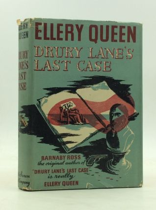 DRURY LANE'S LAST CASE: The Tragedy of 1599. Ellery Queen