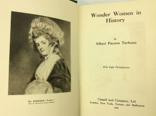 WONDER WOMEN IN HISTORY.