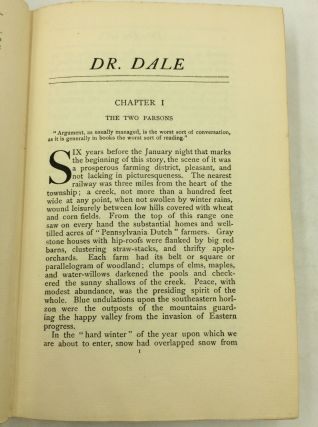 DR. DALE: A STORY WITHOUT A MORAL.